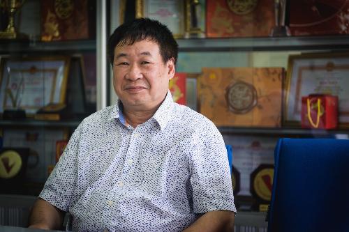 Ông Vương Trọng Tuấn - Phó tổng giám đốc Công ty Bánh Mứt Kẹo Hà Nội.