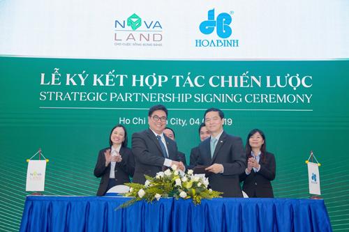 Ký kết với Tập đoàn Hòa Bình là Nhà thầu xây dựng cho dự án NovaBeach Cam Ranh Resort & Villas (Cam Ranh, Khánh Hòa)