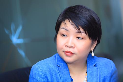 Bà Winnie Wong - Quản lý khu vực Đông Dương của tổ chức phát hành thẻ MasterCard.