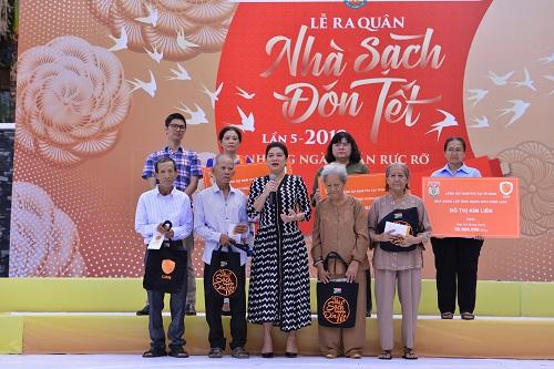 Bà Đỗ Thị Kim Liên phát biểu tại chương trình.