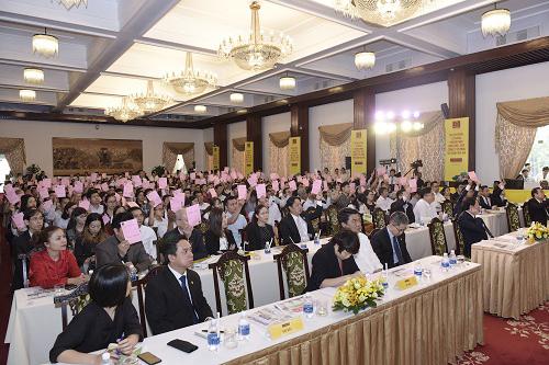 Đại hội đồng cổ đông Hoa Sen niên độ tài chính 2018-2019 diễn ra sáng 14/1 tại TP HCM.