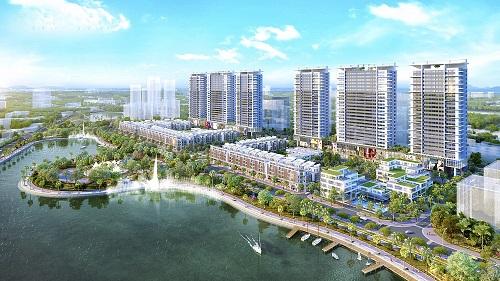 Bất động sản Long Biên phát triển nhanh nhờ lợi thế vị trí, hạ tầng.