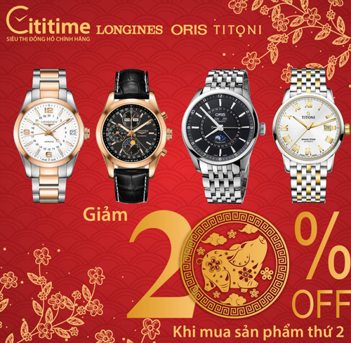 Cititime là đơn vị nhập khẩu và phân phối độc quyền thương hiệu đồng hồ Thụy Sĩ cao cấp