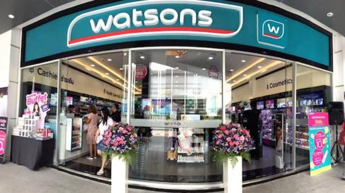 Một cửa hàng Watsons ở Thái Lan. Ảnh: InsideRetail Thailand