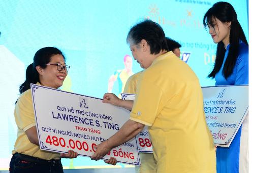 Toàn bộ số tiền quyên góp được đã được trao cho quỹ Vì người nghèo quận 7, quận 8, huyện Nhà Bè, huyện Bình Chánh và một số quỹ hội từ thiện xã hội khác, nhằm chăm lo đời sống cho người nghèo trong dịp xuân Kỷ Hợi.