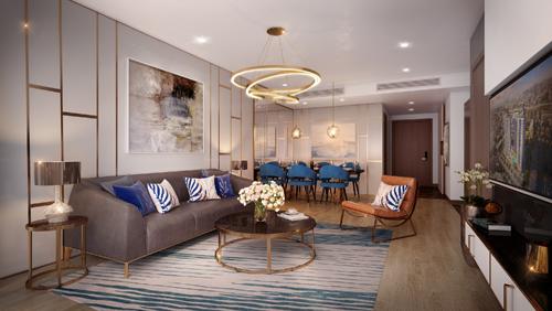 Thiết kế hiện đại, nội thất cao cấp là một trong những điểm nổi bật tại dự án.