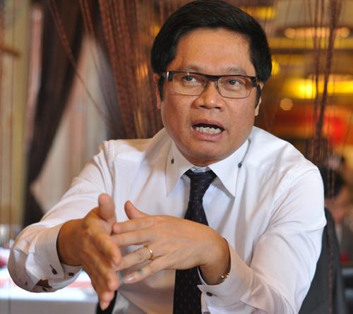 Ông Vũ Tiến Lộc - Chủ tịch VCCI. Ảnh: Nhật Minh
