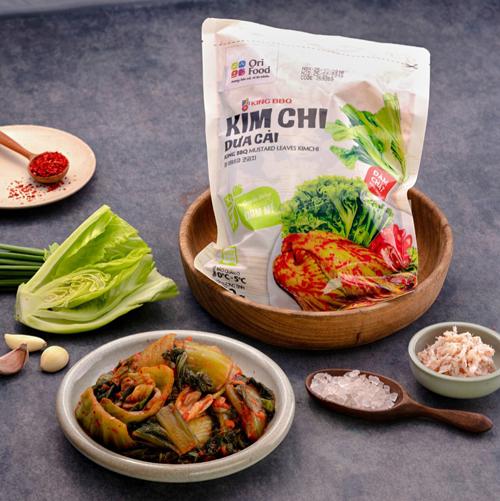 Kim chi dưa cải là sản phẩm mới của công ty OriFood.