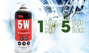 Tẩy sạch và ngăn ngừa rỉ sét từ 'chuyên gia' 5-W