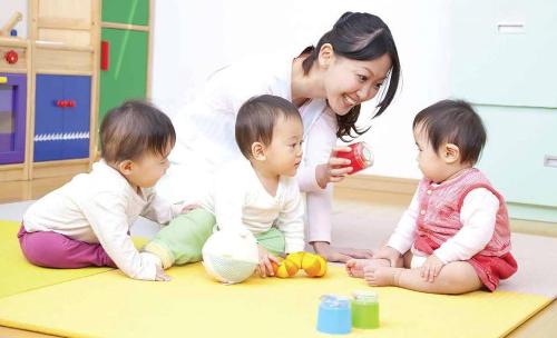 Dịch vụ trông giữ trẻ giúp cư dân an tâm hơn.