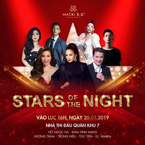 Đàm Vĩnh Hưng là ca sĩ khách mời ở Chương trình Star of The Night của Công ty Mat Xi tối 20/1.