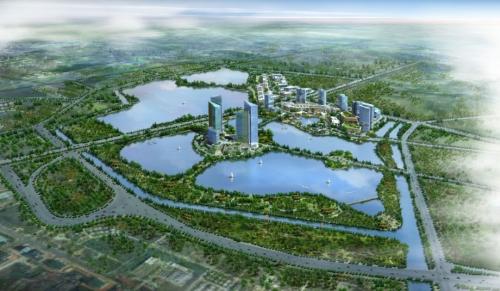 Toàn cảnh dự án Gamuda City.