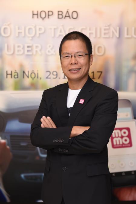 Ông Phạm Thành Đức  - Tổng giám đốc MoMo.