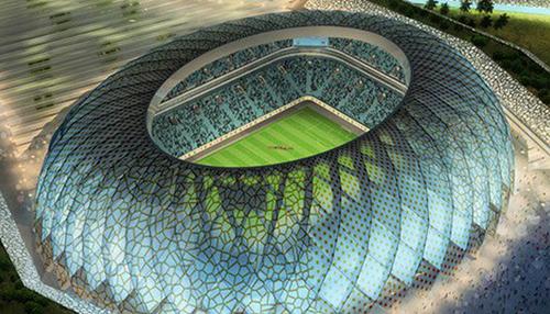 Một dự án sân vận động có mái che đang được triển khai tại Qatar.