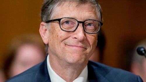 Tỷ phú Bill Gates. Ảnh: Bloomberg