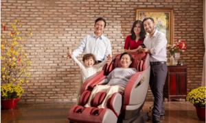 Lưu ý khi chọn ghế massage chăm sóc sức khỏe làm quà Tết