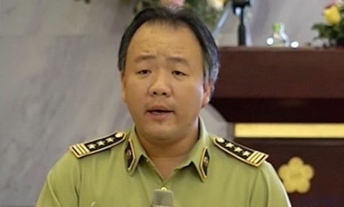 Ông Trần Hữu Linh - Tổng cục trưởng Tổng cục Quản lý thị trường.