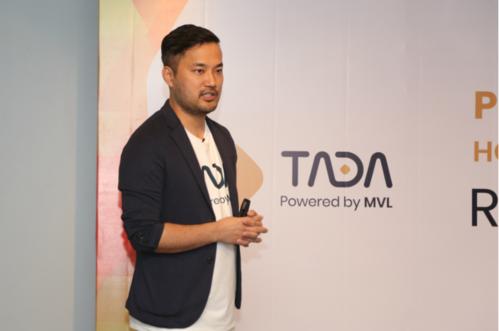Ông Kay Woo - Nhà sáng lập TADA Global tại buổi ra mắt ứng dụng hôm 21/1.