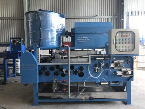 Giải pháp xử lý nước thải bùn thải với máy ép bùn Đại Đồng Tiến Phát - 1