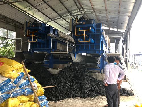Giải pháp xử lý nước thải bùn thải với máy ép bùn Đại Đồng Tiến Phát