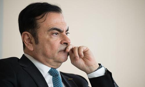 Carlos Ghosn - Cựu chủ tịch, CEO Renault. Ảnh: Bloomberg