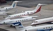 Máy bay riêng đổ về Diễn đàn Kinh tế Thế giới 2019