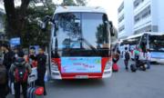 Chuyến xe miễn phí đưa sinh viên về quê đón Tết