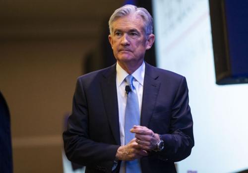 Chủ tịch Cục Dự trữ liên bang Mỹ - Jerome Powell. Ảnh: Bloomberg