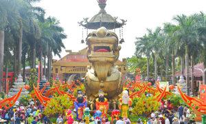 Nhiều hoạt động đón Tết Kỷ Hợi tại khu du lịch văn hóa Suối Tiên