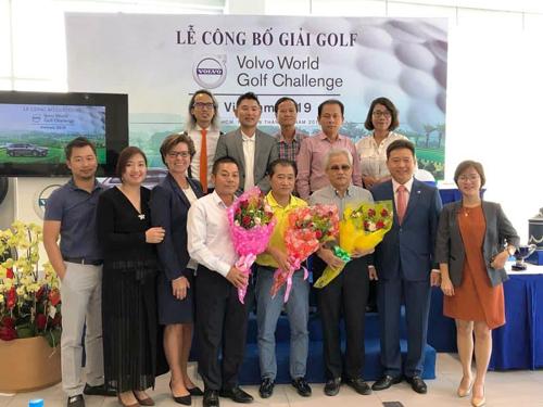 Lễ công bố giải đấu Volvo World Golf Challenge ngày 28/1 vừa qua.