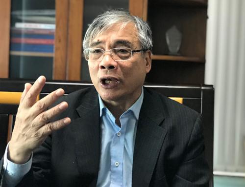 Ông Trần Đình Thiên - nguyên Viện trưởng Viện Kinh tế Việt Nam. Ảnh: H.Thu