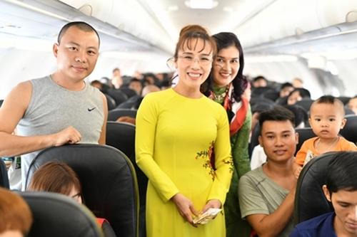 Theo kế hoạch, từ ngày 20/1 đến 19/2 (nhằm ngày 15 tháng chạp năm Mậu Tuất đến 15 tháng giêng năm Kỷ Hợi), Vietjet dự kiến khai thác hơn 12.500 chuyến bay, trong đó có hơn 4.000 chuyến bay quốc tế, tăng hơn 20% so với cùng kỳ.