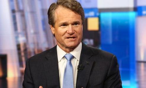 Giám đốc điều hành của Bank of America, Brian Moynihan. Ảnh: Bloomberg