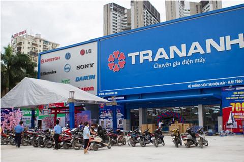Cửa hàng điện máy Trần Anh tại Hà Nội.