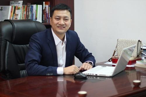 Ông Bùi Huy Hùng - Chủ tịch HĐQT Công ty Trà Sương Mai Thái Nguyên. Ảnh: Hà Trương.