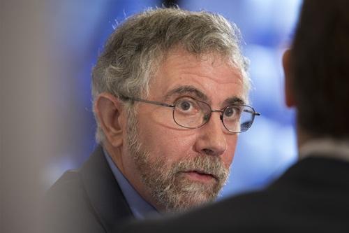 Nhà kinh tế học từng giành giải Nobel - Paul Krugman. Ảnh: Bloomberg