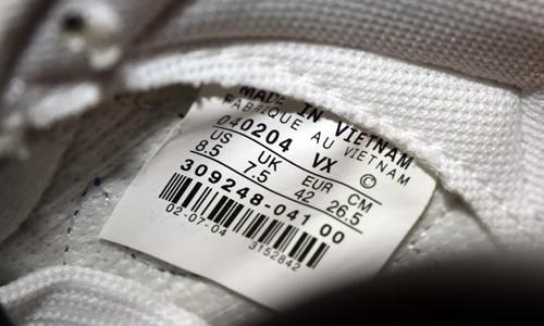 Nhiều sản phẩm gia công ở nước ngoài nhưng gắn mác Made in Vietnam để né thuế.