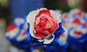 Hoa hồng 'tam sắc' đắt khách ngày Valentine