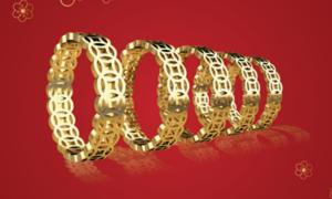 Bảo Tín Thanh Vân tung bộ sưu tập vàng 24k trong ngày Thần tài