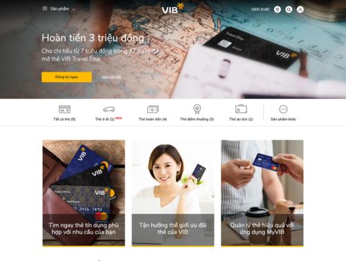 Trải nghiệm website ngân hàng số hoàn toàn mới của VIBtại đây.