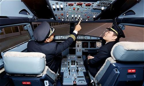 Hàng không khan hiến nhân sự phi công.