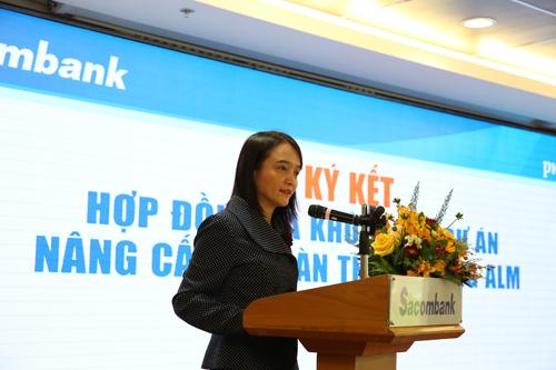 Bà Đinh Thị Hồng Hạnh - Phó tổng giám đốc PwC Việt Nam phát biểu tại sự kiện.