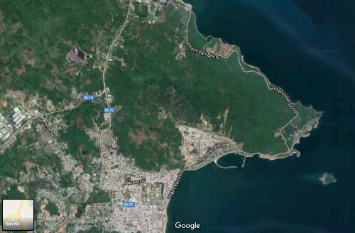 Phía Bắc Nha Trang với đường bờ biển dài, cảnh quan thiên nhiên đẹp, phù hợp phát triển khu du lịch nghỉ dưỡng.