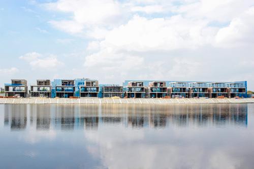 Dãy biệt thự One River Villas, một trong những sản phẩm sẽ do Smart Property vận hành, phát triển.