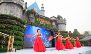 Trải nghiệm lễ hội hoa xuân mới lạ tại Thiên Đường Bảo Sơn