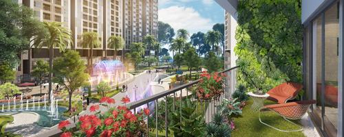 Imperia Sky Garden còn là không gian sống trong lành cho cư dân.