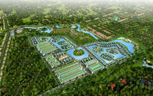 Phối cảnh dự án Pearl Riveside, một khu đô thị xanh tiêu chuẩn resort ven sông, ven hồ tại Đồng Nai.