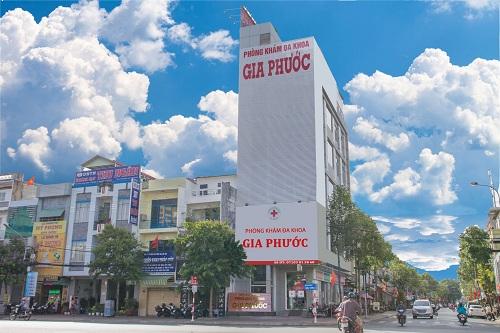 Phòng khám Gia Phước tọa lạc tại 57 Hùng Vương, phường Thới Bình, quận Ninh Kiều, thành phố Cần Thơ.