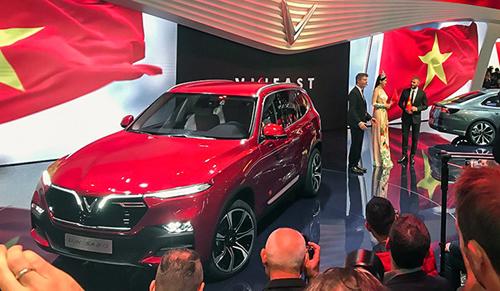 Một trong 2 mẫu xe Vinfast khiến thế giới ngỡ ngàng tạiParis Motor Show hồi tháng 10/2018.