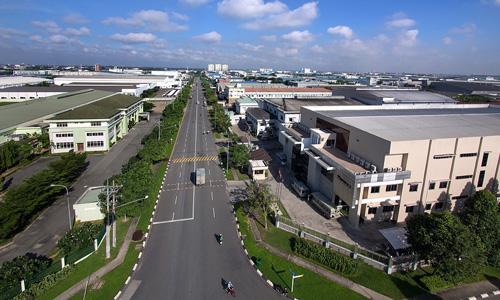 Một khu công nghiệp tại Bình Dương. Ảnh: VSIP